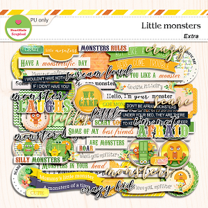 Little monsters - extra