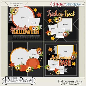Halloween Bash - 12x12 Temps (CU Ok)