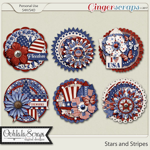 Stars and Stripes Cluster Seals