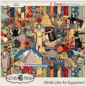 Walk Like An Egyptian by Scraps N Pieces