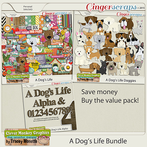 A Dog's Life Bundle by Clever Monkey Graphics
