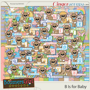 B is For Baby by BoomersGirl Designs