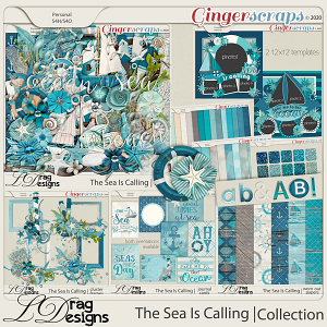 The Sea Is Calling: The Collection by LDragDesigns