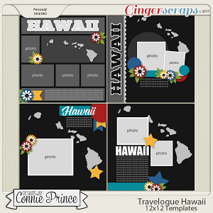Travelogue Hawaii - 12x12 Temps (CU Ok)