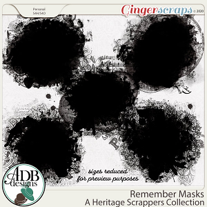 Remember Masks by ADB Designs