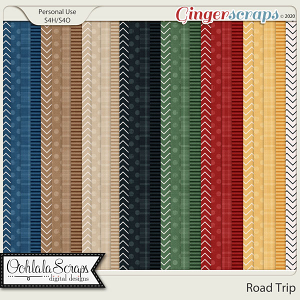 Road Trip Extra Pattern Papers