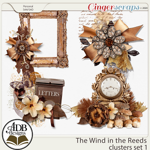 The Wind in the Reeds Clusters Set 01 by ADB Designs