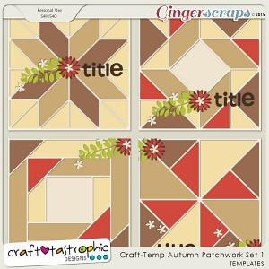 Craft-Templates Autumn Patchwork Set 1