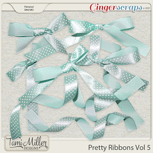 Pretty Ribbons Vol 5 by Tami Miller Designs