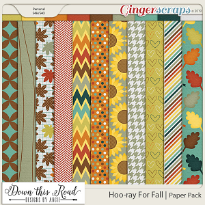 Hoo-ray For Fall | Paper Pack