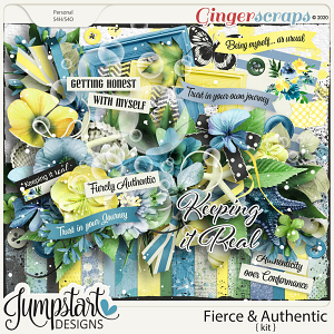 Fierce & Authentic {Kit} by Jumpstart Designs