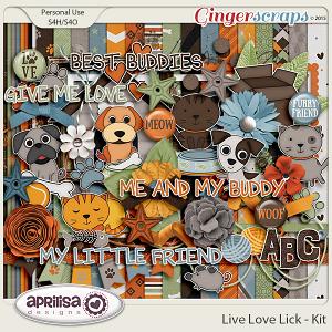 Live Love Lick - Kit
