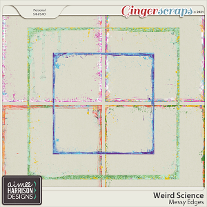 Weird Science Messy Edges by Aimee Harrison