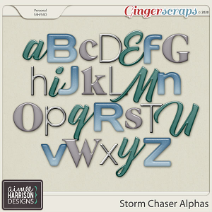 Storm Chaser Alpha Sets by Aimee Harrison