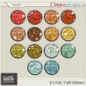It's Fall Y'all Glitters by Aimee Harrison