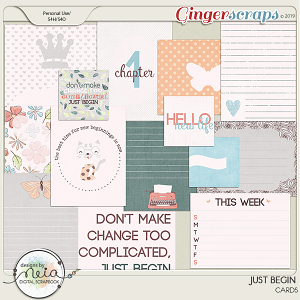 Just Begin - Cards - Designs by Neia
