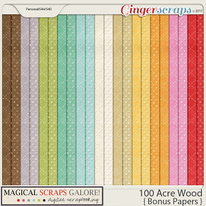 100 Acre Wood (bonus papers)