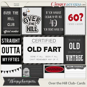 Over the Hill Club Cards