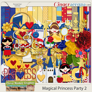 Magical Princess Party 2 by Clever Monkey Graphics