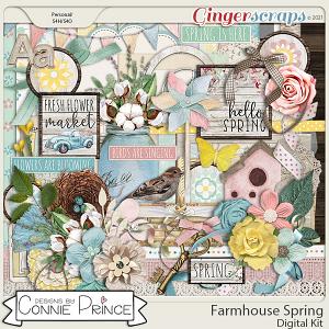Farmhouse Spring - Kit by Connie Prince
