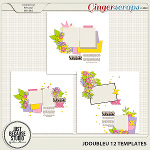 JDoubleU 12 Templates by JB Studio