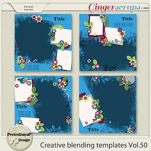 Creative blending templates Vol.50