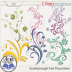 Scarborough Fair Flourishes by ADB Designs