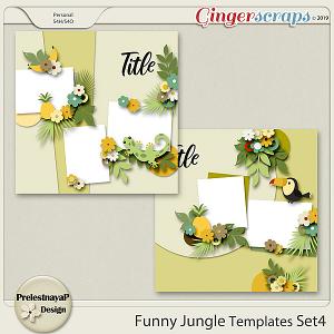Funny Jungle Templates Set4
