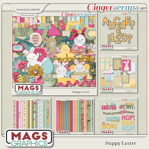 Hoppy Easter BUNDLE by MagsGraphics