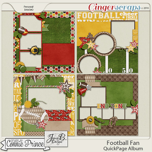 Football Fan - Quick Pages