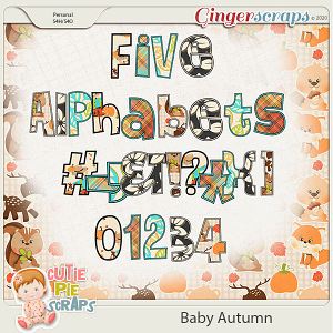 Baby Autumn-Alphabets