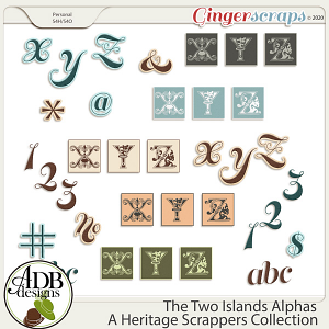The Two Islands Alphas by ADB Designs
