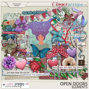 Open Doors - Elements - by Neia Scraps