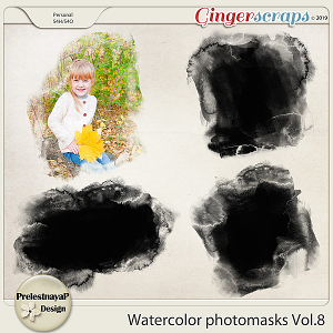Watercolor photomasks Vol.8