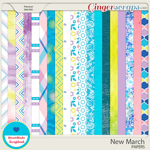 New March - papers