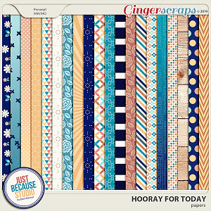 Hooray For Today Papers by JB Studio