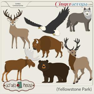 Yellowstone Park CU Templates - Scraps N Pieces