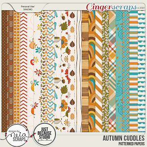 Autumn Cuddles - Papers - by Neia Scraps and JB Studio