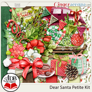 Dear Santa Petite Kit by ADB Designs