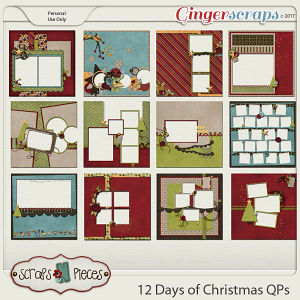 12 Days of Christmas Quick Pages