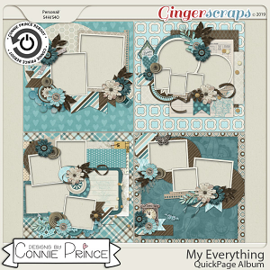 My Everything - QuickPages by Connie Prince