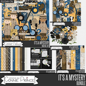 It's A Mystery - Bundle by Connie Prince
