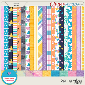 Spring vibes - papers