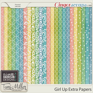 Girl Up Extra Papers by Aimee Harrison and Tami Miller