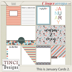 This is January Cards 2.