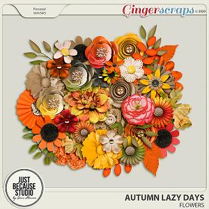 Autumn Lazy Days Flowers by JB Studio