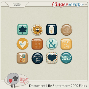 Document Life September 2020 Flairs by Luv Ewe Designs