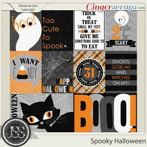 Spooky Halloween Journal and Pocket Scrap Cards