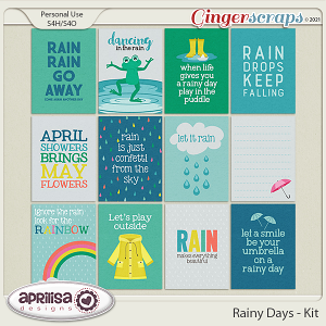 Rainy Days - Cards
