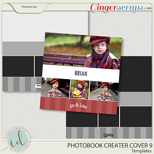 Photobook Creater Cover 9 by Ilonka's Designs